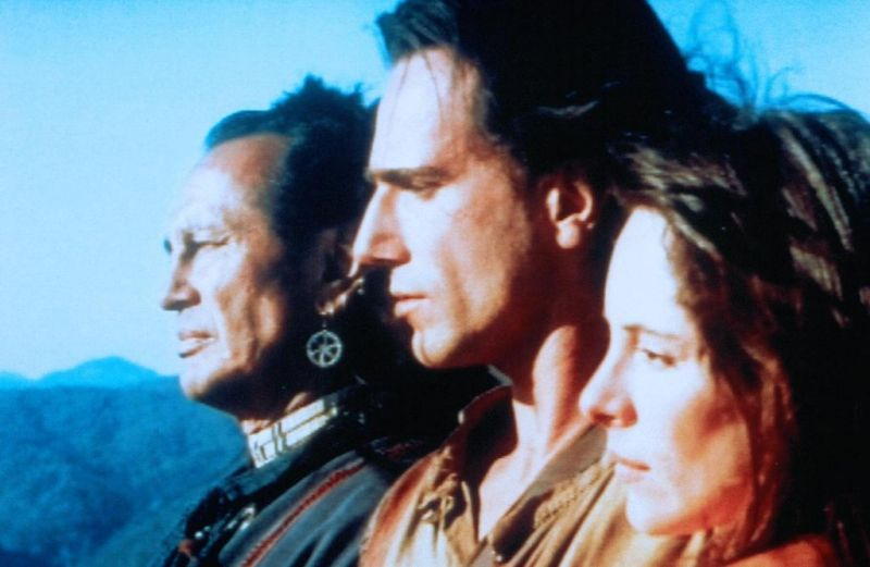 El último mohicano : Foto Daniel Day-Lewis, Madeleine Stowe, Russell Means