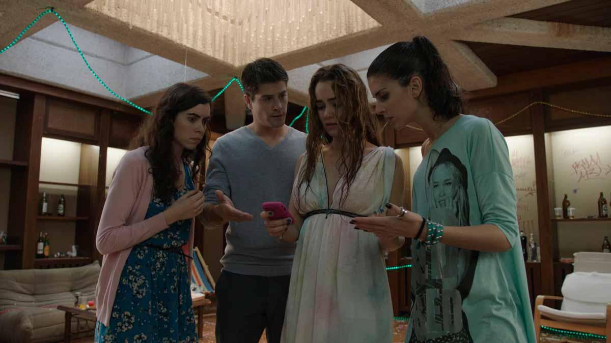 Afterparty : Foto Alicia Sanz, Ana Caldas, Luis Fernández (II), Rocío León