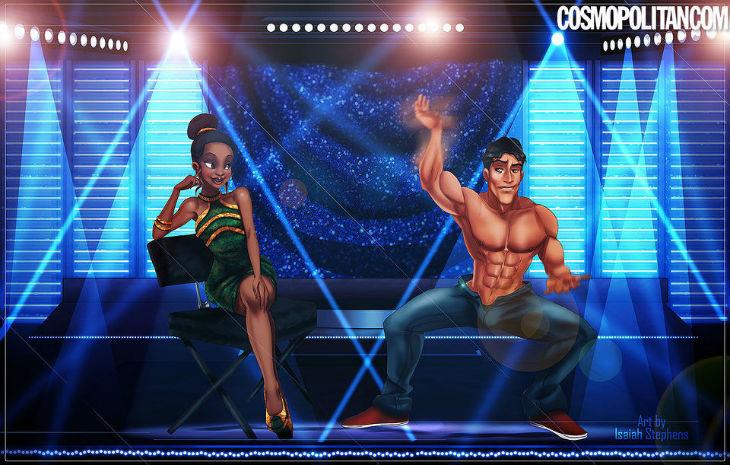Naveen y Tiana