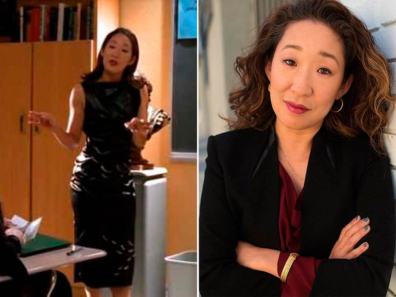 Profesora de humanidades – Sandra Oh