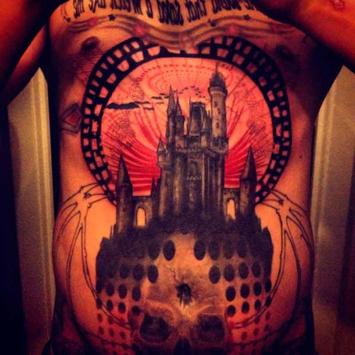 Una variación del castillo de Disney