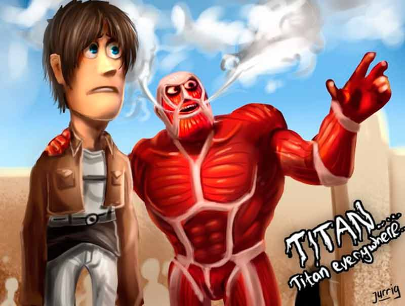 'Toy Story' y 'Ataque a los titanes'