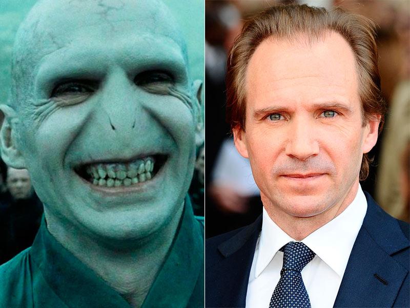 Ralph Fiennes es Lord Voldemort