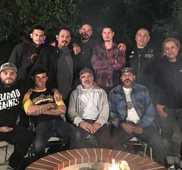 El equipo de 'Mayans MC'