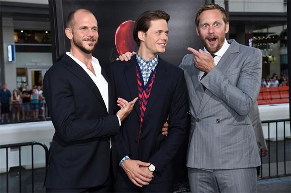 Gustaf, Bill y Alexander Skarsgård