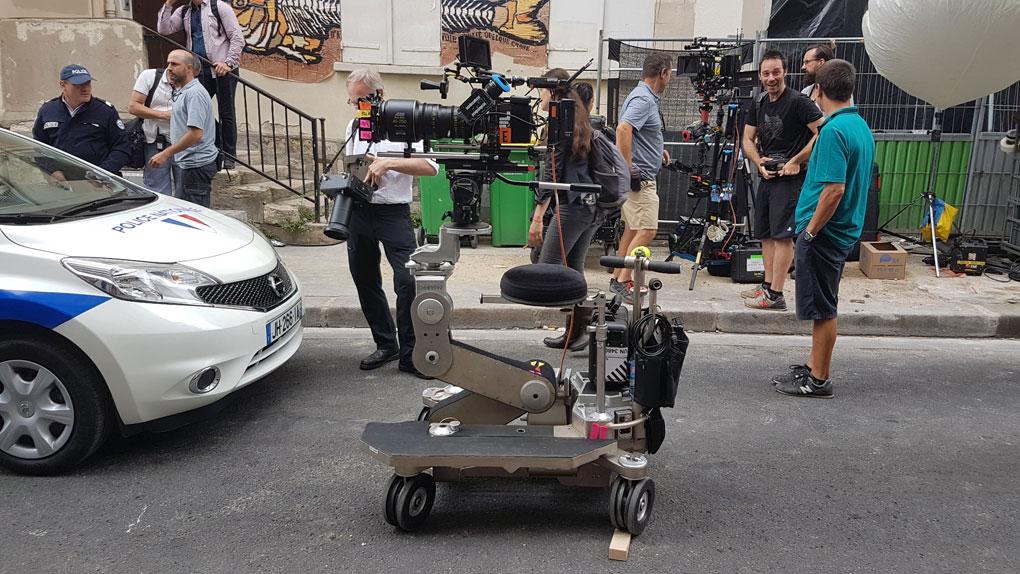 La cámara utilizada para la secuencia