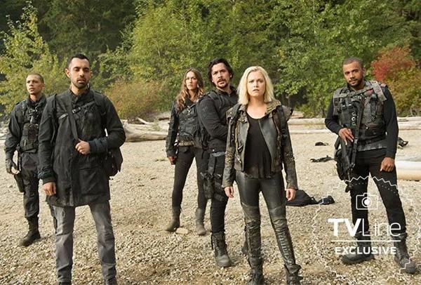 Bellamy, Clarke, Echo, Nathan,... en el nuevo mundo