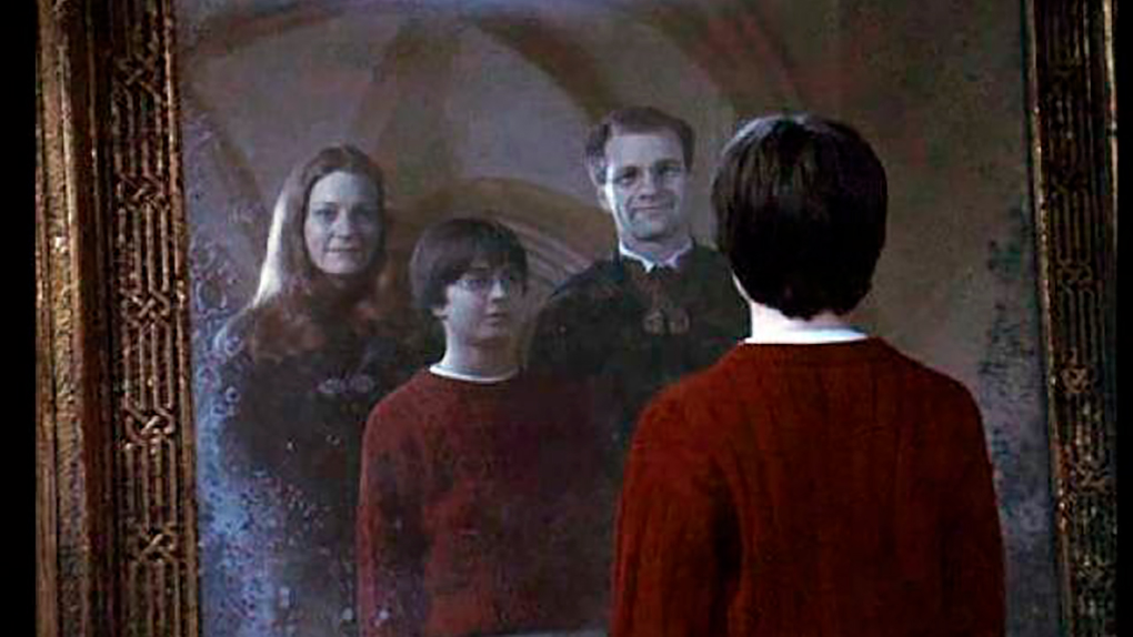 Los padres de Harry en el Espejo de Oesed