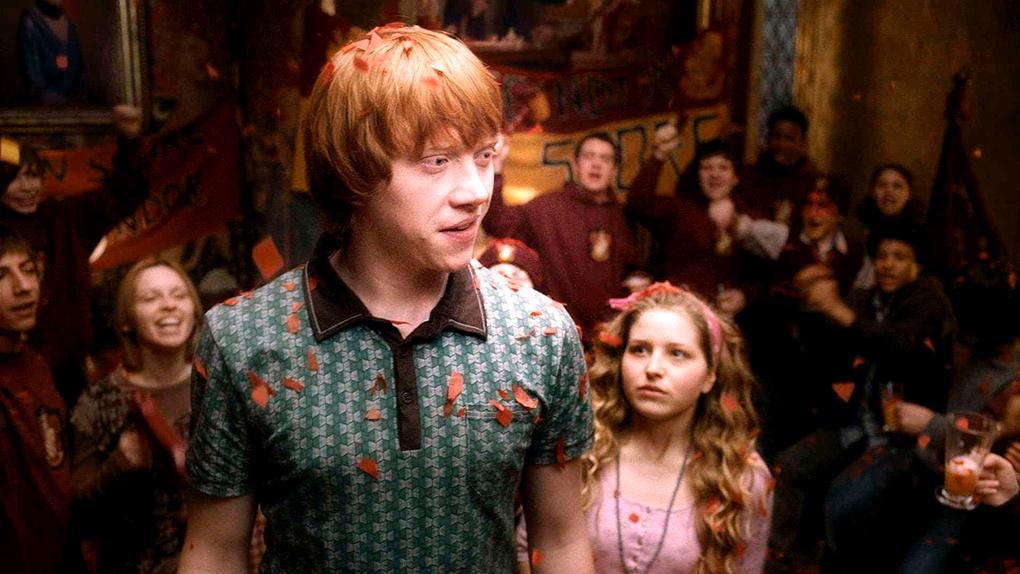 Cuando Lavender Brown se enamora locamente de Ron Weasley