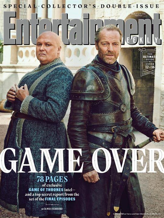 Varys y Jorah Mormont
