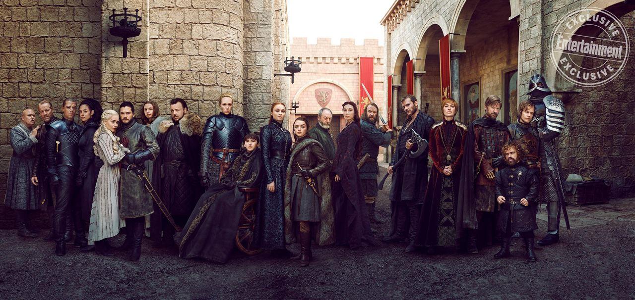 Los protagonistas del final de 'Juego de Tronos'