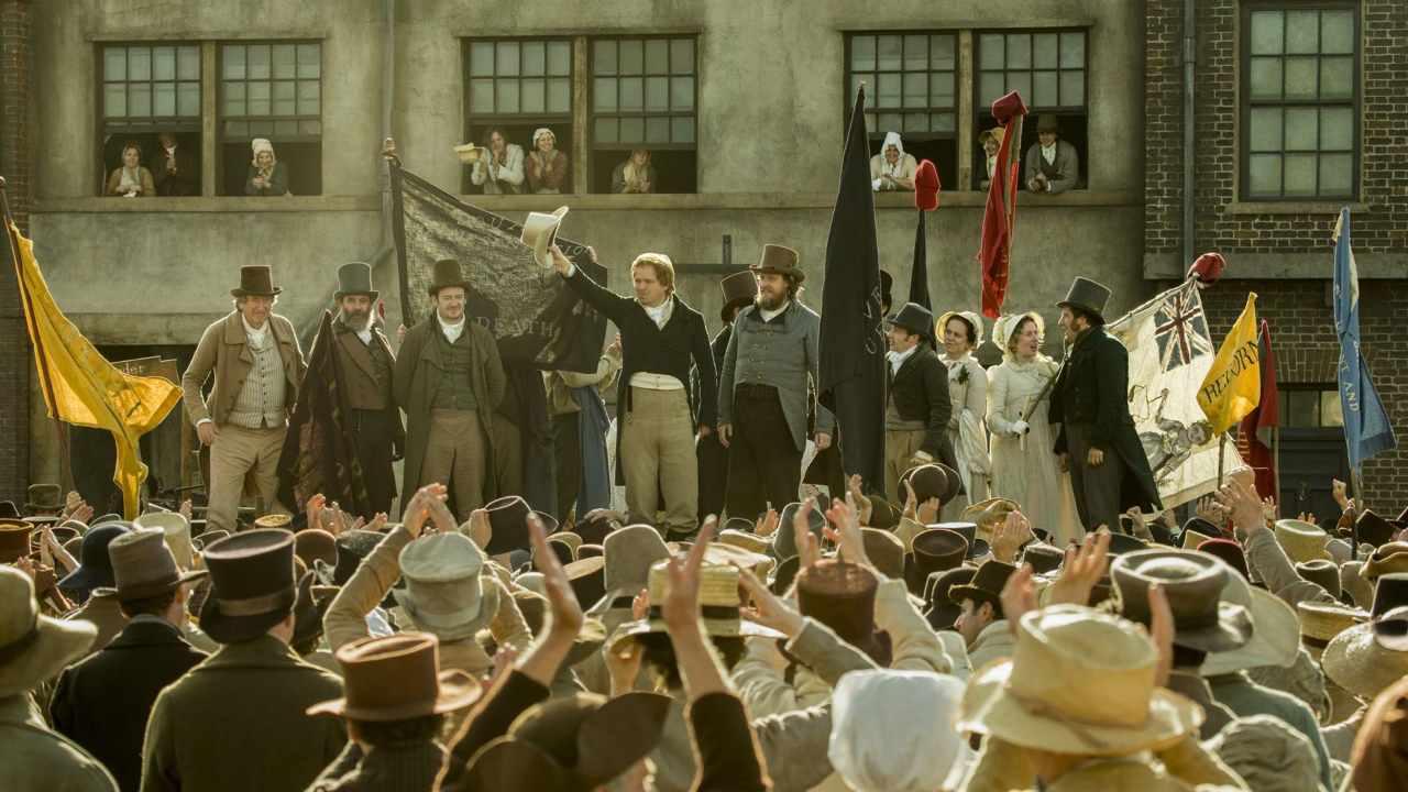 "Mike Leigh ('La tragedia de Peterloo'): ""La historia siempre se ..."