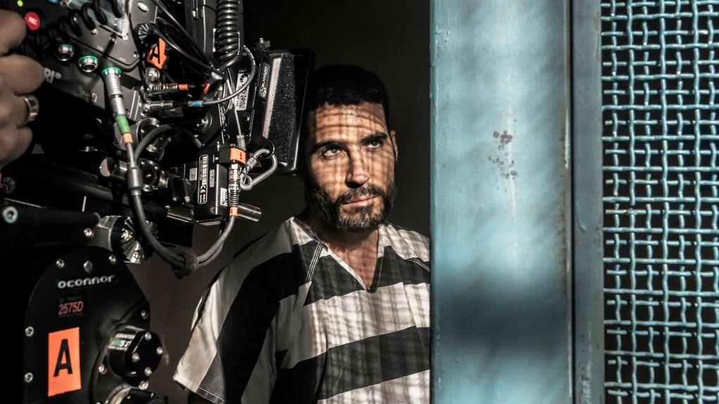 Así son las primeras imágenes de Miguel Ángel Silvestre en 'El Corredor De La Muerte'