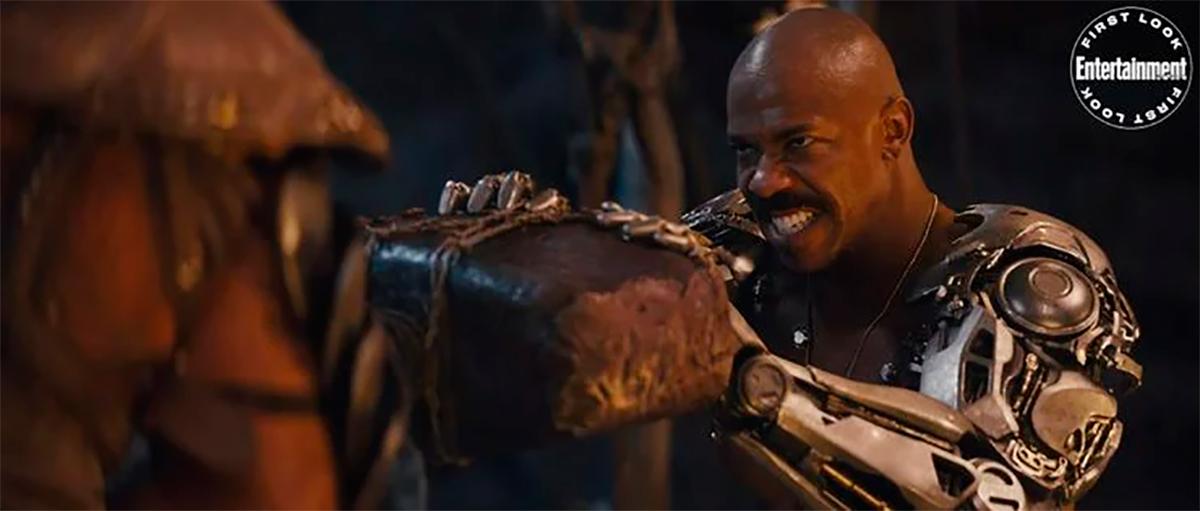 Jax y su icónico brazo de metal