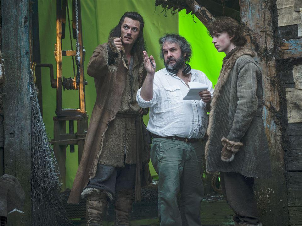 El Hobbit: La desolación de Smaug: Luke Evans, Peter Jackson