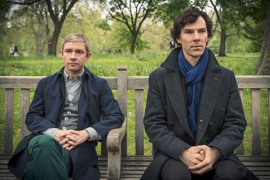 Foto Benedict Cumberbatch, Martin Freeman