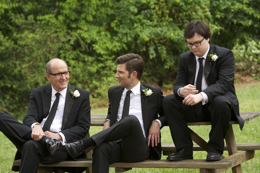 Síndrome post divorcio: Clark Duke, Adam Scott, Richard Jenkins