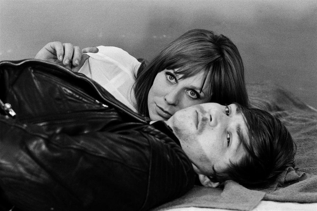Foto Margarethe von Trotta, Rainer Werner Fassbinder