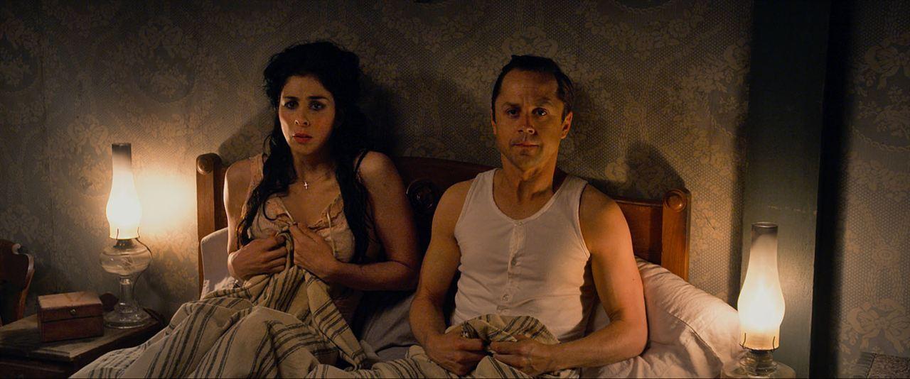 Mil maneras de morder el polvo: Giovanni Ribisi, Sarah Silverman