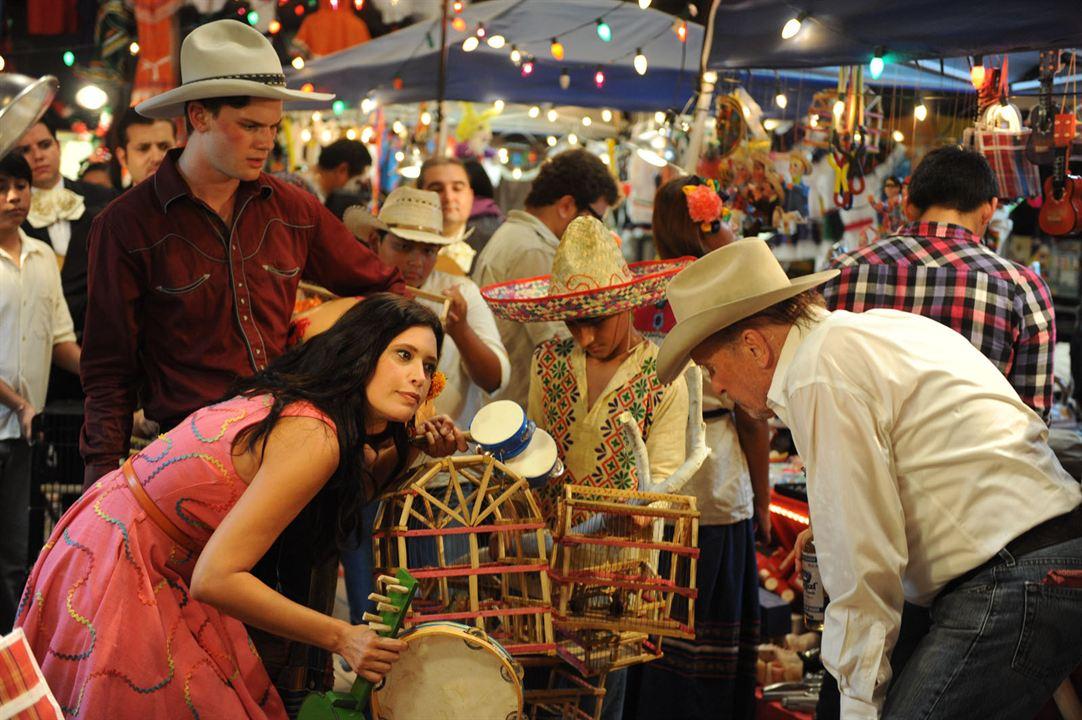 Una noche en el Viejo Mexico : Foto Angie Cepeda, Jeremy Irvine, Robert Duvall