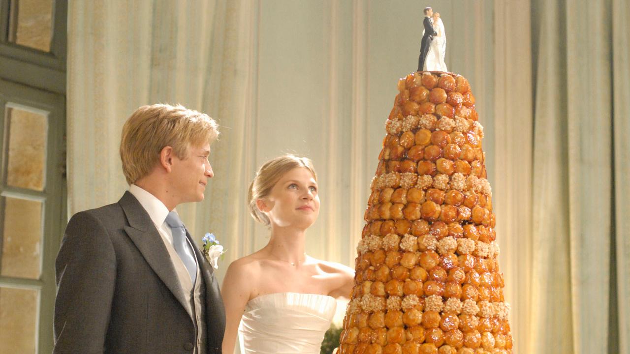 El pastel de boda