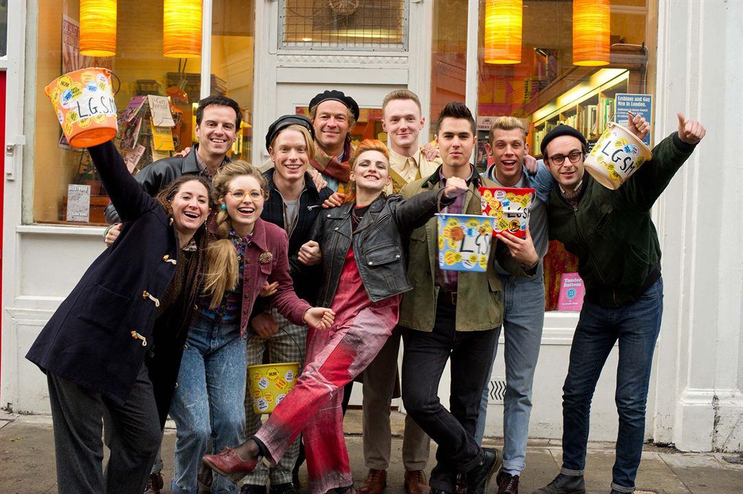 Pride (Orgullo) : Foto Andrew Scott, Ben Schnetzer, Chris Overton, Dominic West, Faye Marsay