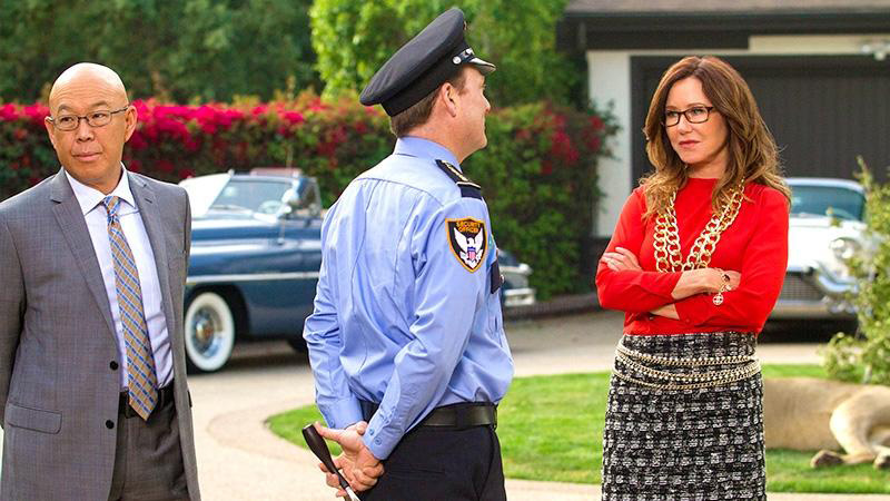 Foto Mary McDonnell, Michael Paul Chan