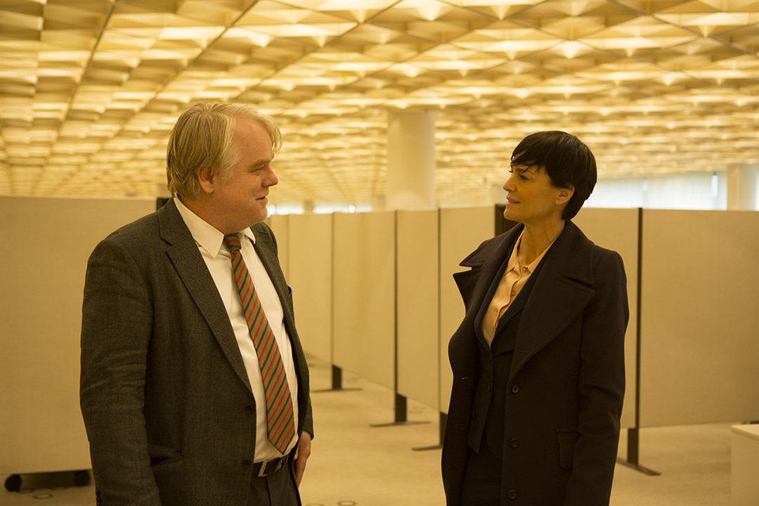 El hombre más buscado: Philip Seymour Hoffman, Robin Wright