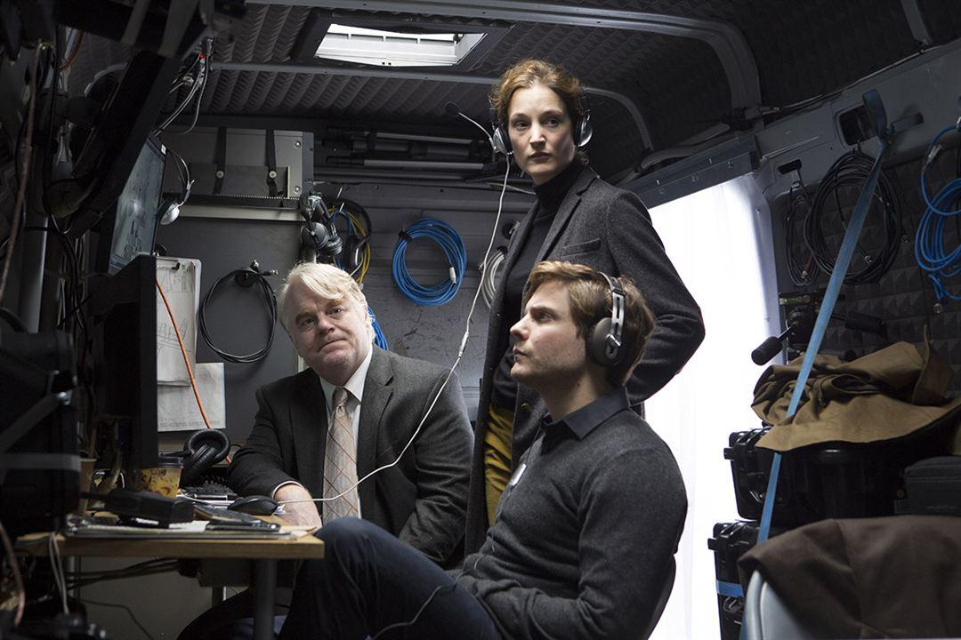 El hombre más buscado: Philip Seymour Hoffman, Vicky Krieps, Daniel Brühl