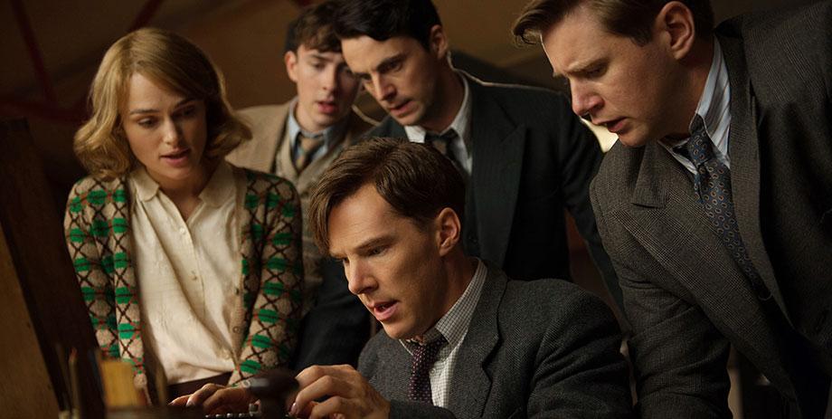The Imitation Game (Descifrando Enigma) : Foto Allen Leech, Benedict Cumberbatch, Keira Knightley, Matthew Beard, Matthew Goode