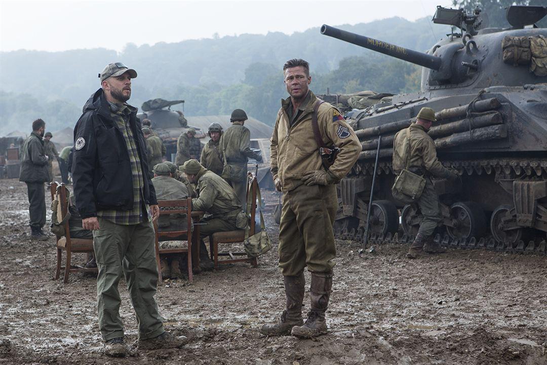 Corazones de acero : Foto Brad Pitt, David Ayer