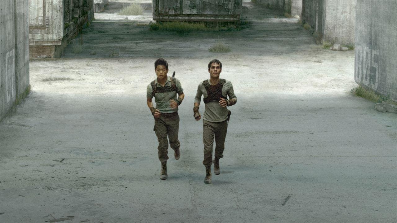 El corredor del laberinto: Dylan O'Brien, Ki Hong Lee