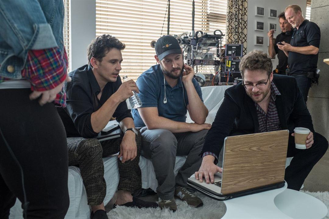 The Interview : Foto Evan Goldberg, James Franco, Seth Rogen