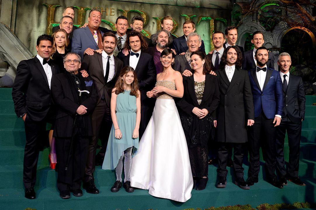 El hobbit: La batalla de los cinco ejércitos : Couverture magazine Adam Brown, Aidan Turner, Andy Serkis, Benedict Cumberbatch, Evangeline Lilly