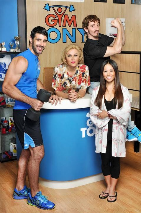 Gym Tony : Foto Antonia San Juan, David Amor, Ivan Massagué, Usun Yoon