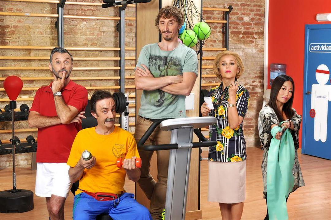 Gym Tony : Foto Antonia San Juan, Carlos Chamarro, Ivan Massagué, Santi Rodríguez, Usun Yoon