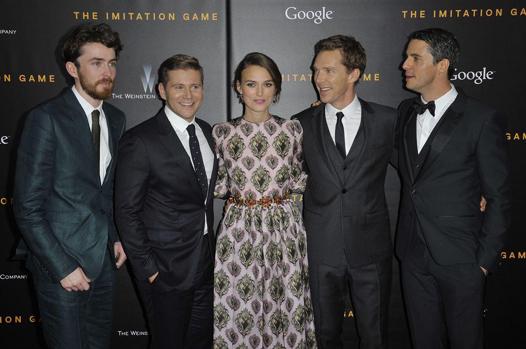 The Imitation Game (Descifrando Enigma) : Couverture magazine Allen Leech, Benedict Cumberbatch, Keira Knightley, Matthew Goode