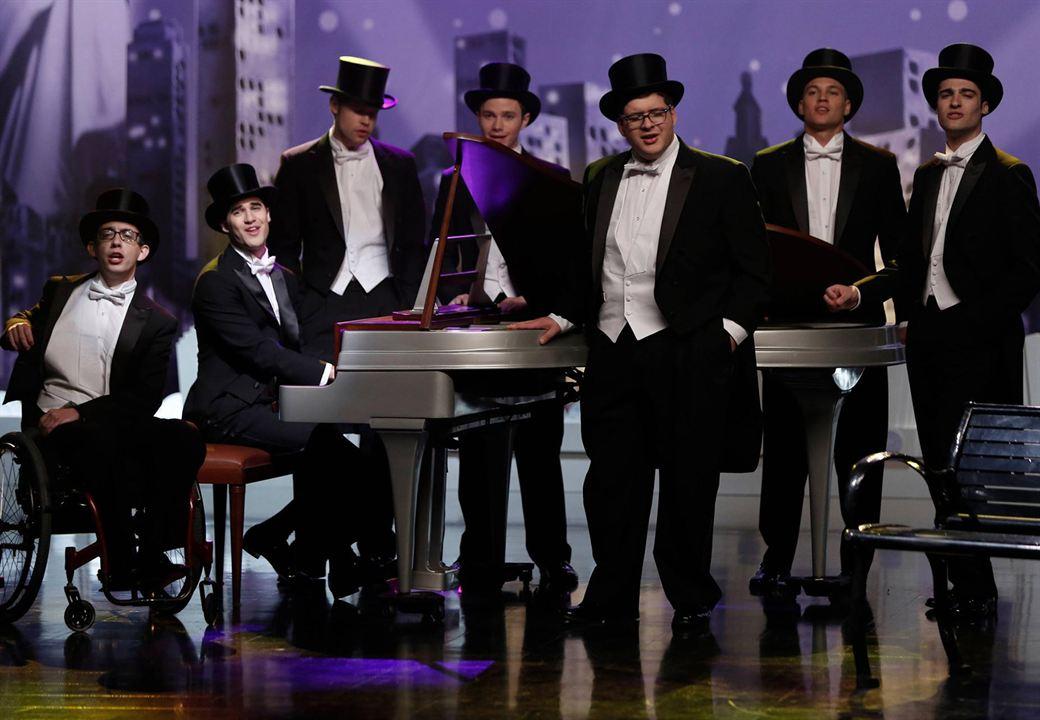 Foto Chord Overstreet, Chris Colfer, Darren Criss, Kevin McHale