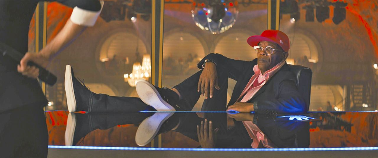 Kingsman: Servicio secreto: Samuel L. Jackson