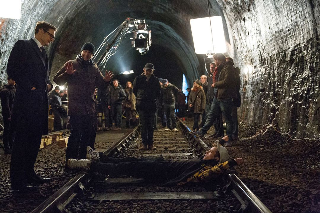 Kingsman: Servicio secreto: Colin Firth, Matthew Vaughn, Taron Egerton