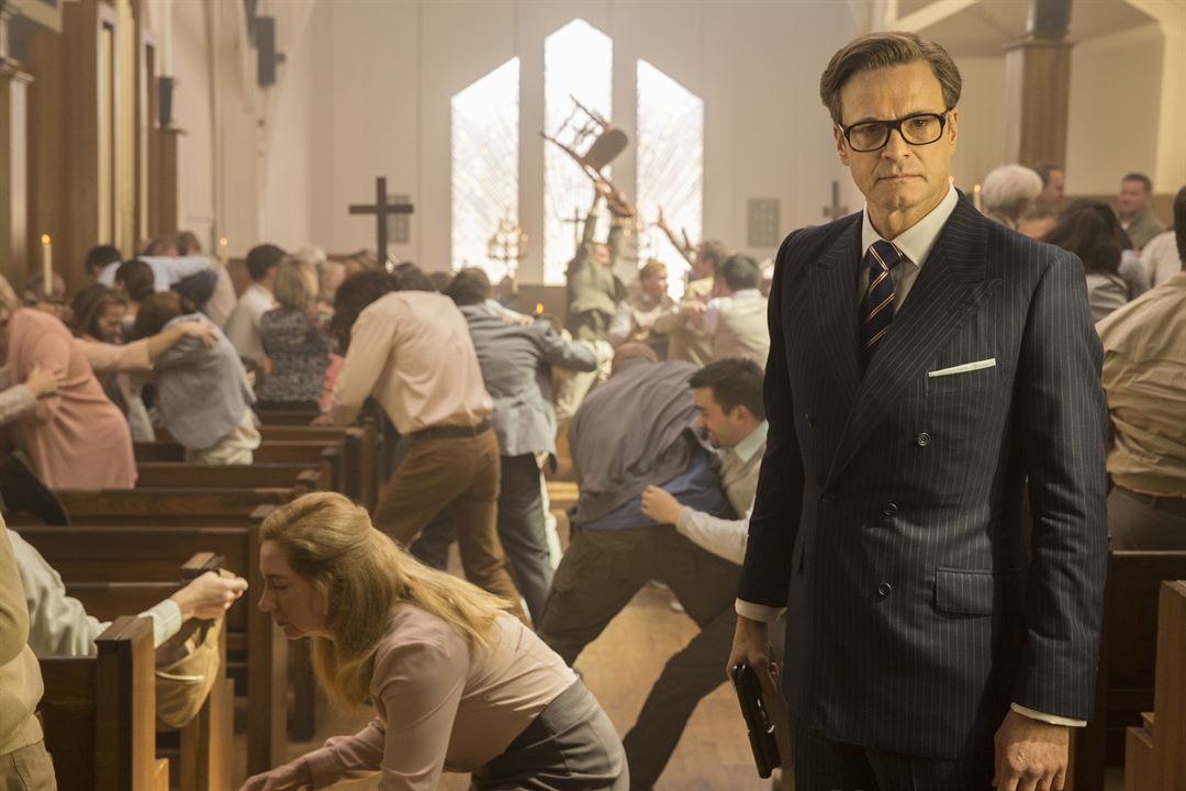 Kingsman: Servicio secreto: Colin Firth