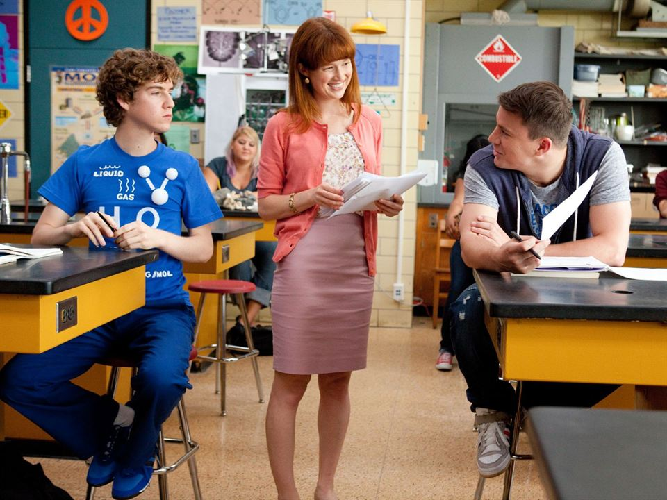 Infiltrados en clase: Channing Tatum, Ellie Kemper