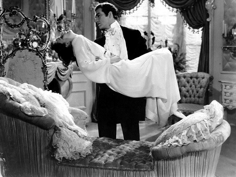 Margarita Gautier : Foto Greta Garbo, Robert Taylor