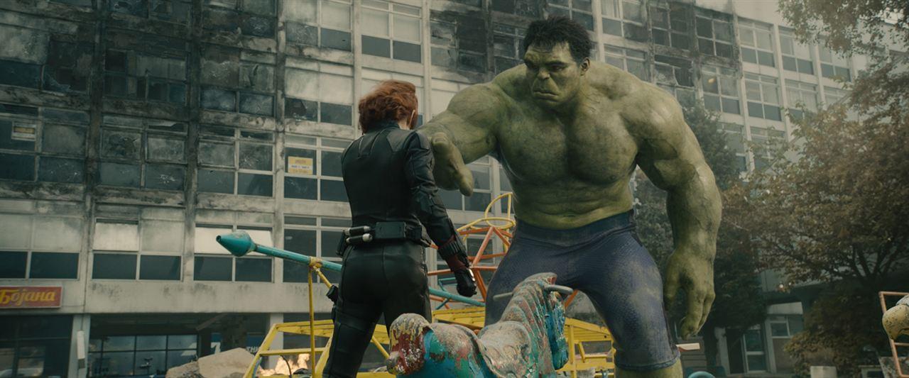 Vengadores: La era de Ultrón: Mark Ruffalo, Scarlett Johansson