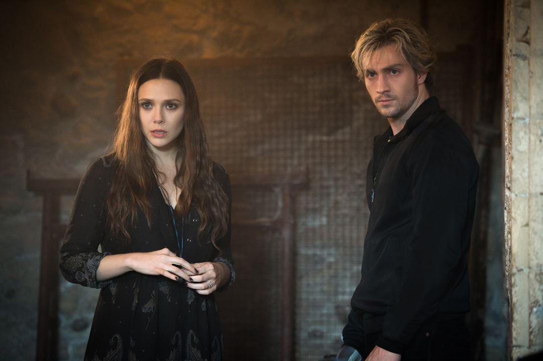 Vengadores: La era de Ultrón: Elizabeth Olsen, Aaron Taylor-Johnson