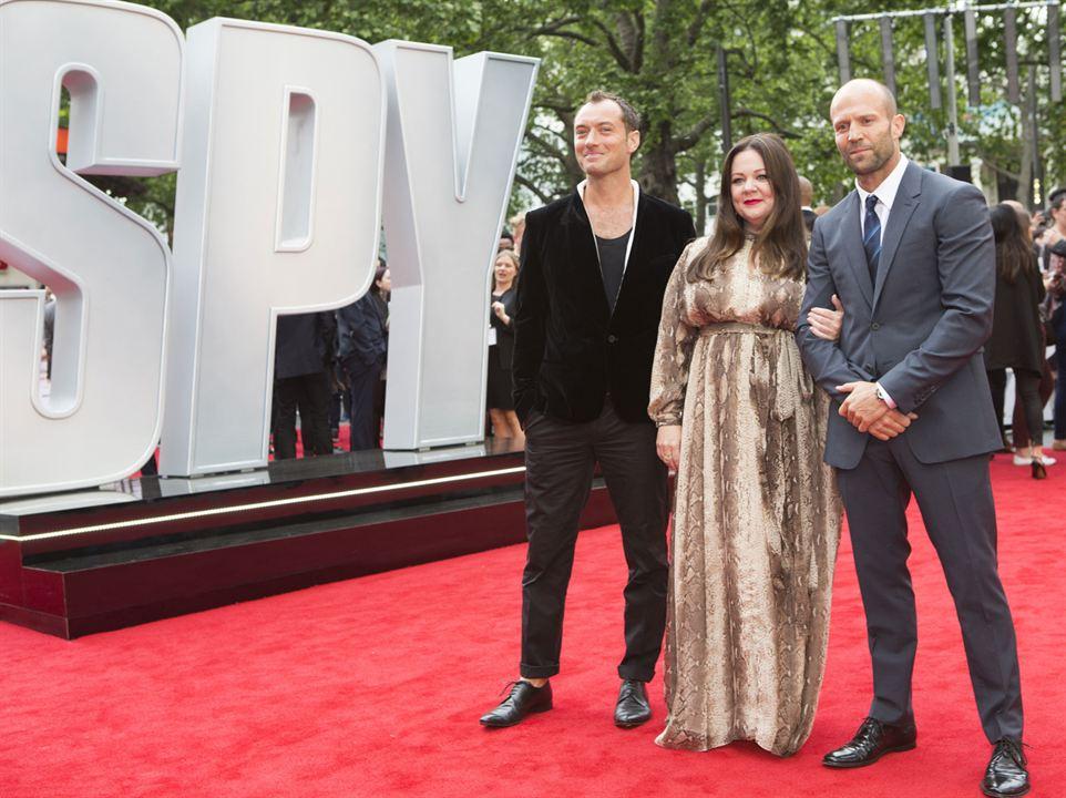 Espías: Jude Law, Jason Statham, Melissa McCarthy