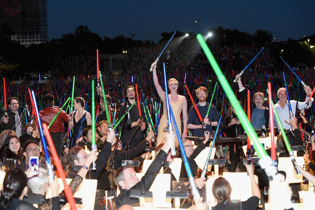 Star Wars: El despertar de la Fuerza : Couverture magazine Adam Driver, Carrie Fisher, Daisy Ridley, Domhnall Gleeson, Gwendoline Christie