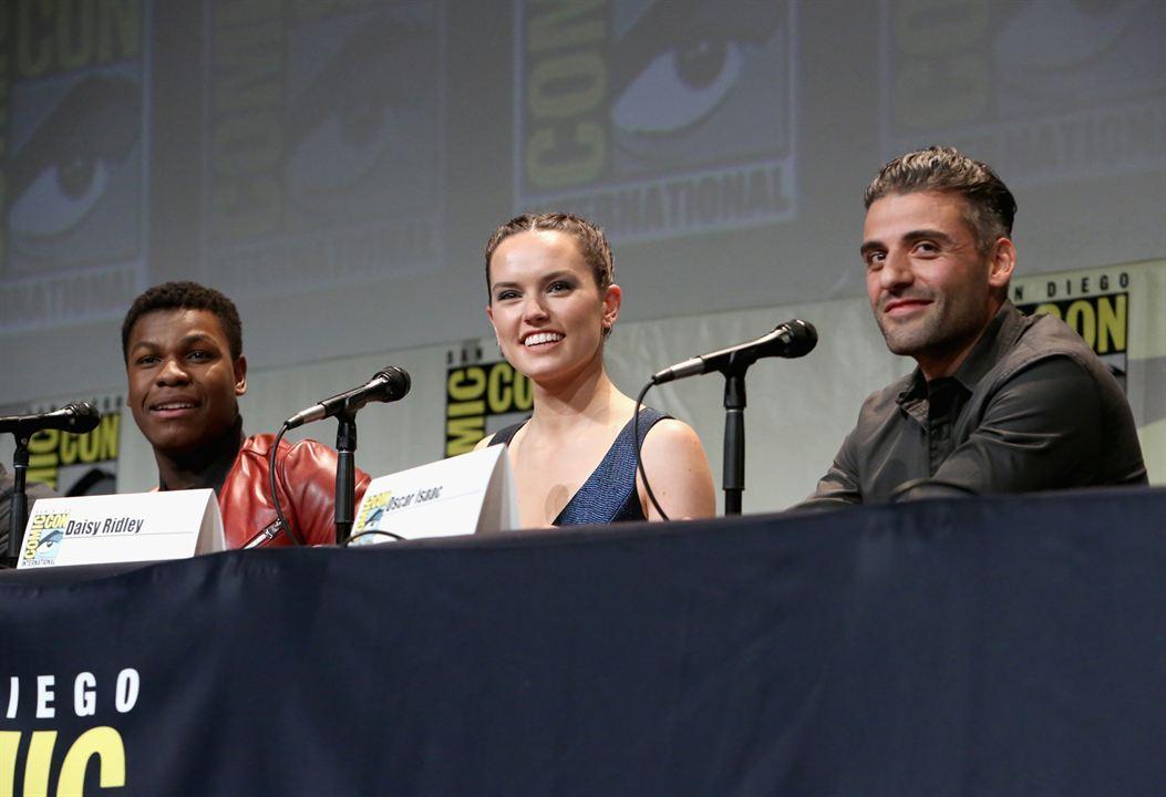 Star Wars: El despertar de la Fuerza : Couverture magazine Daisy Ridley, John Boyega, Oscar Isaac