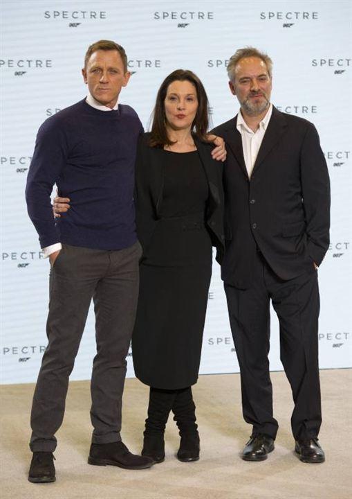 Spectre : Couverture magazine Barbara Broccoli, Daniel Craig, Sam Mendes