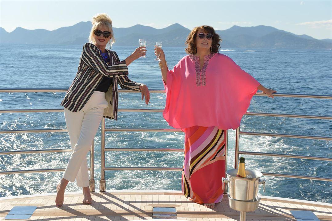 Absolutamente fabulosas: Jennifer Saunders, Joanna Lumley